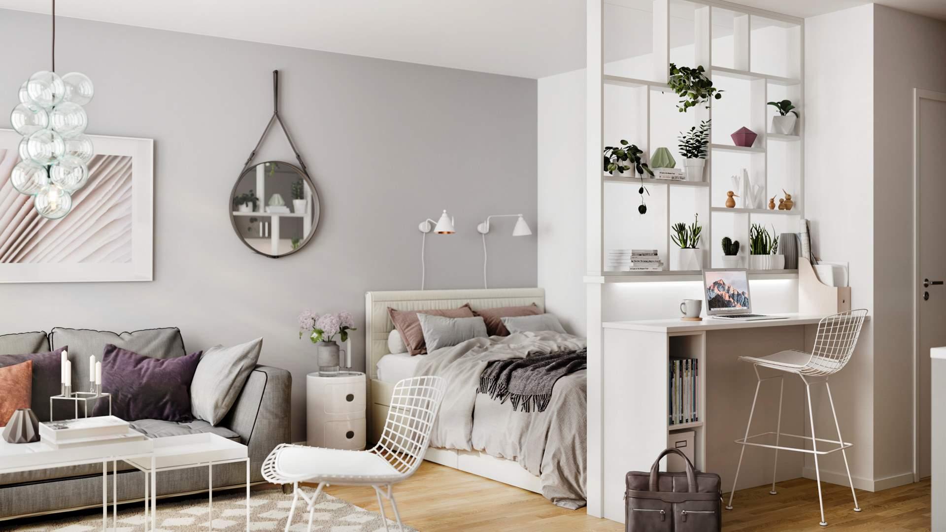 Möblera smart i små lägenheter | Riksbyggen